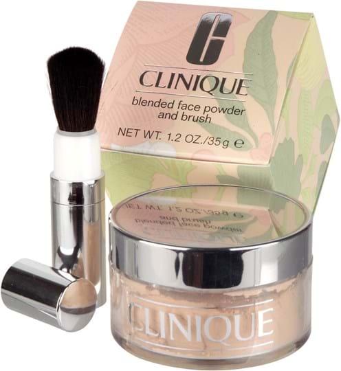 Clinique Blended-ansigtspudder/børste, Transparency 3