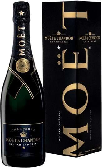 Moët & Chandon, Nectar Imperial, semi-sweet, white, giftpack