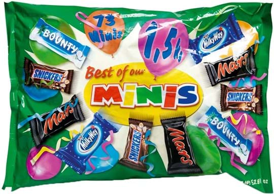 Mars Best of Minis Mega Bag 1500g