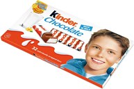 Kinder Chocolate, 4 x 100g