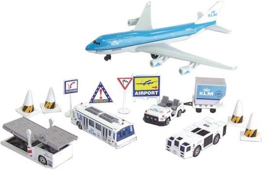 Premier Portfolio KLM 13 Piece Airport Playset