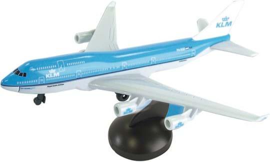 Premier Portfolio KLM 747 Diecast Airplane