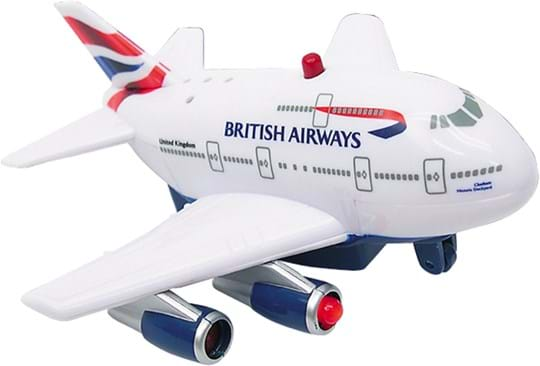 Premier Portfolio, line: PP. British Airways Branded R., airplane