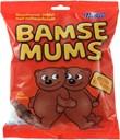 Bamsemums bananskumfiduser overtrukket med chokolade 400g