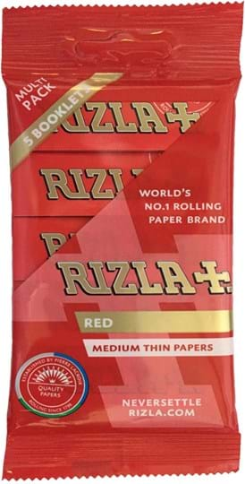 Rizla Red 5 x 40 Blister