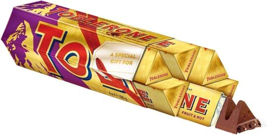 Toblerone Multipack Toblerone Fruit & Nut 6 x 100g