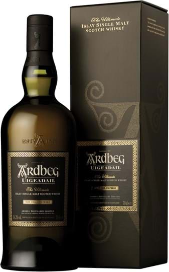 Ardbeg Uigeadail, Single Islay Malt Scotch Whisky, giftpack